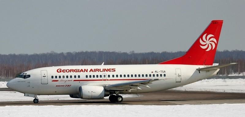 Georgian Airways Boeing 737