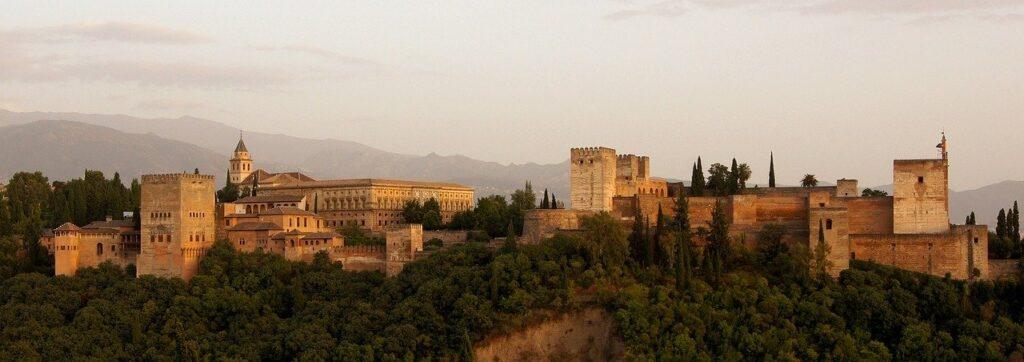 зимний отдых в Испании - Альгамбра
