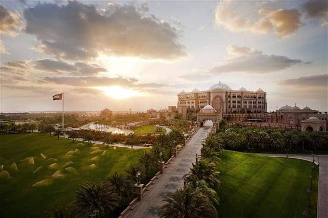 Emirates Palace 5* в Абу-Даби, ОАЭ