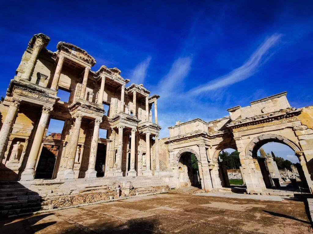 библиотека Цельса в Эфесе, античная Турция