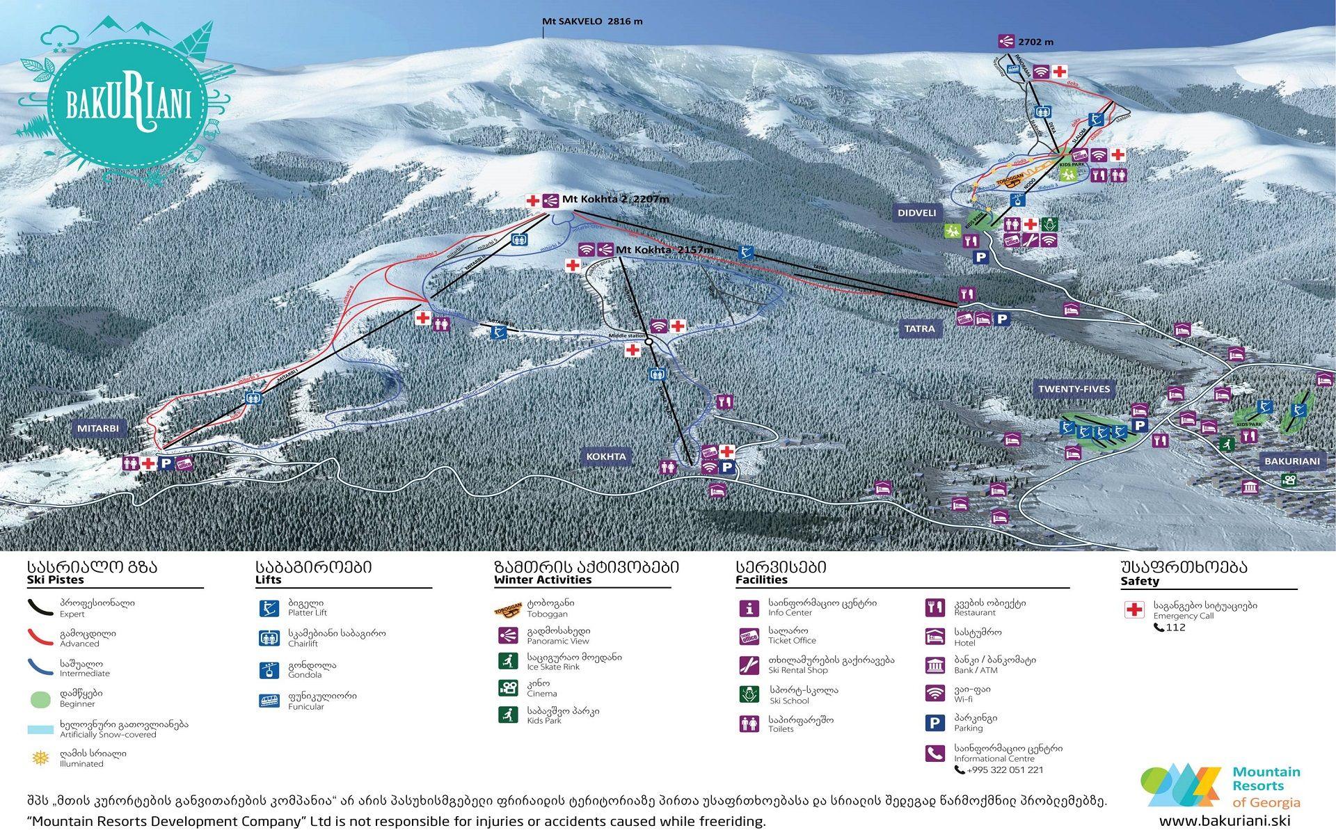 горнолыжные туры в Бакуриани