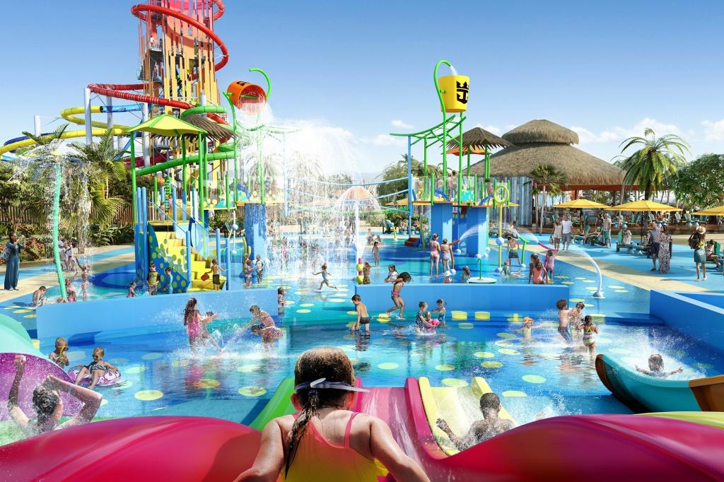аквапарк на CocoCay