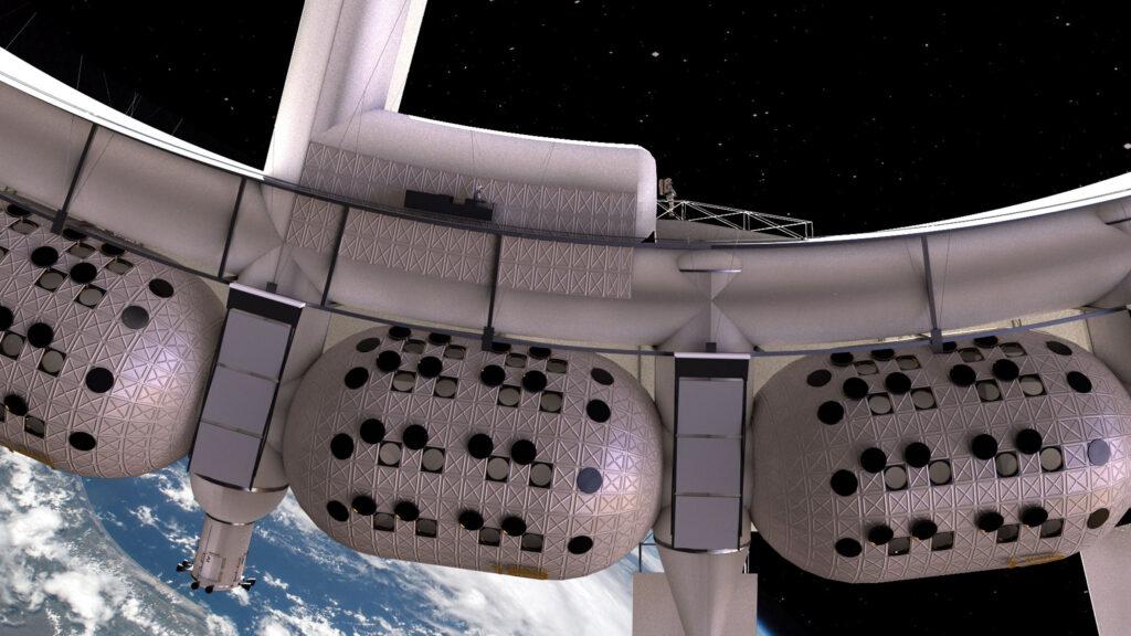 жилые модули космического отеля Voyager Station