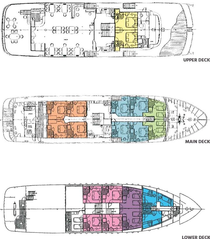 план корабля MS Lupus Mare
