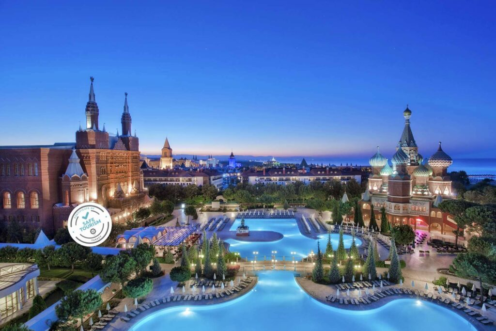 отель в Анталии Asteria Kremlin Palace 5*