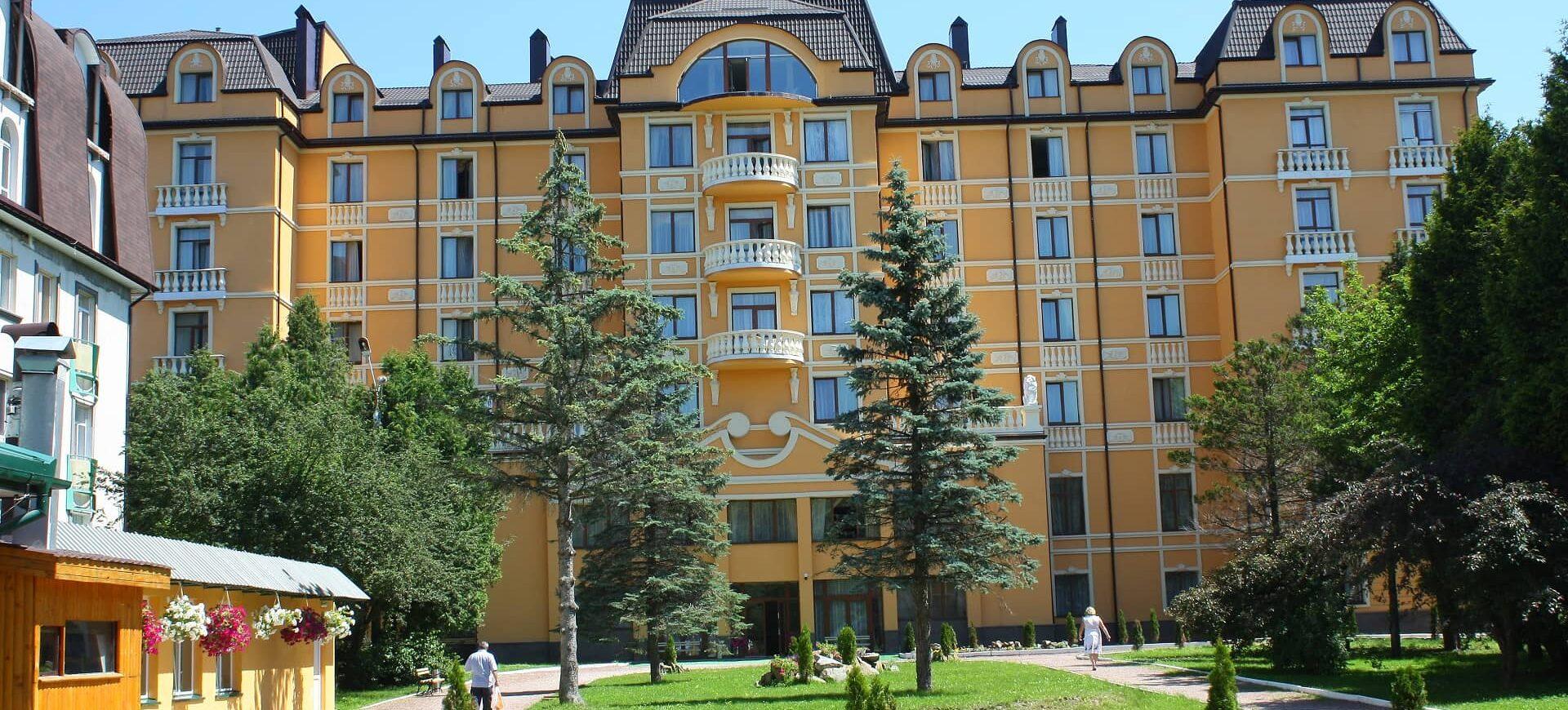 SPA-отель Royal Geneva Hotel Трускавец