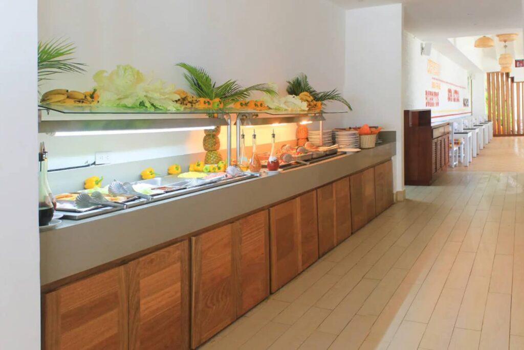 ресторан в отеле Viva Wyndham Tangerine