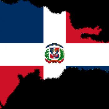 Доминиканская Республика, карта и флаг